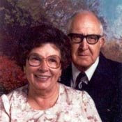 Grandma and Grandpa Lauritzen