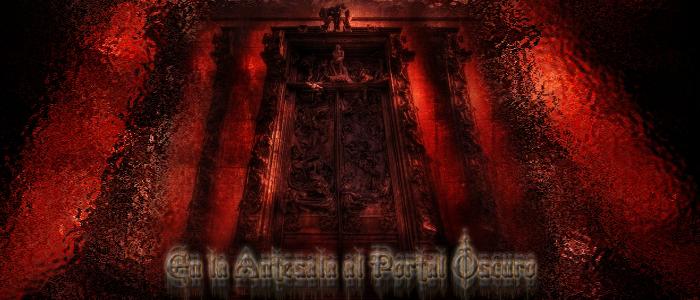 En la antesala al Portal Oscuro