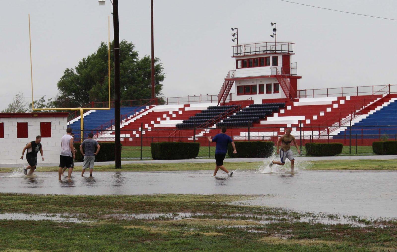 NewsChannel 10 Viewer Weather Pics: OPSU Aggies have fun ...