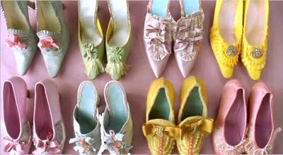 souliers Marie-Antoinette
