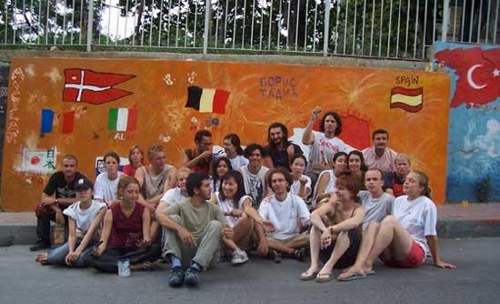international student exchange camp istanbul 2006