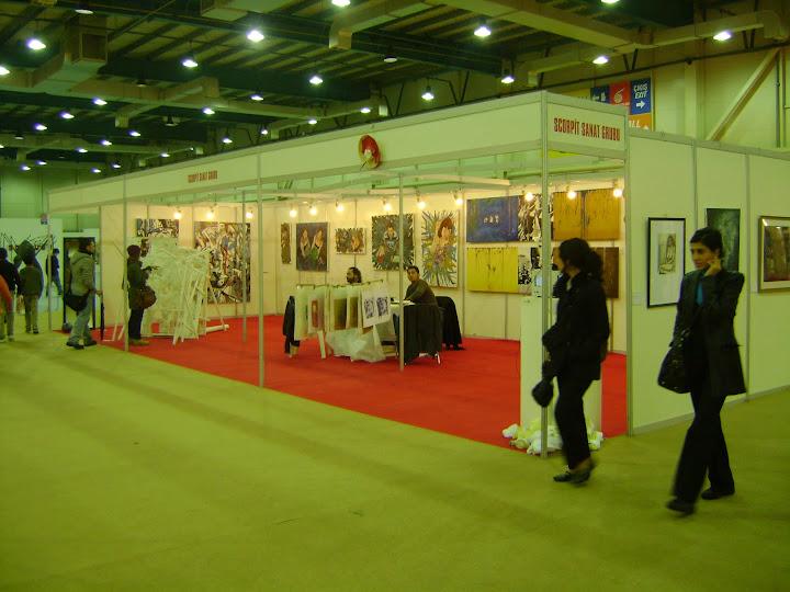tuyap art fair scorpit 2010