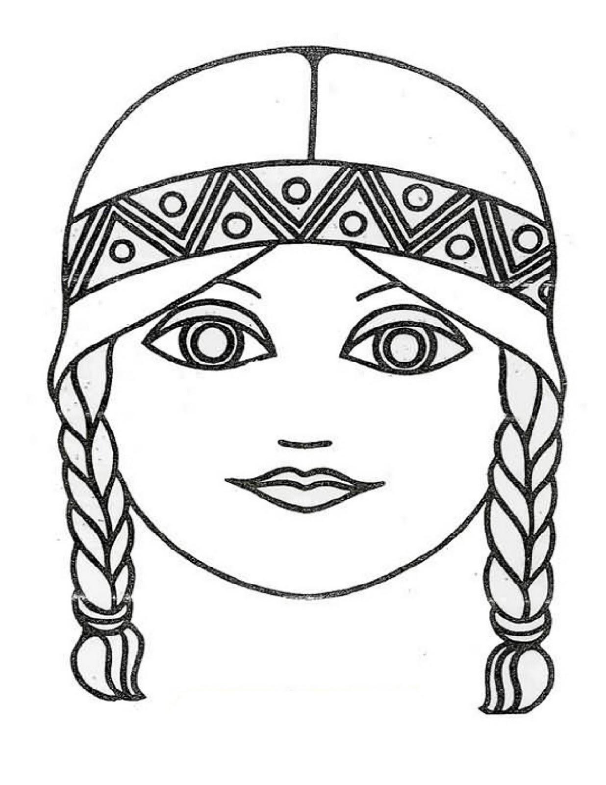 rincon preescolar: Colección de mascaras para pintar o hacer con los ...