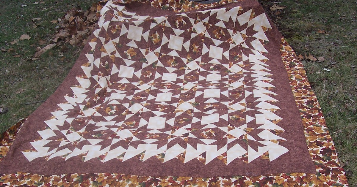 Peggy Quilts Fall Quilt Debbie Caffrey Mystery