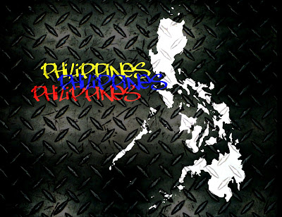 Philippines Map Wallpaper