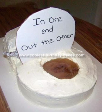 40th Birthday Cake Ideas for Men ( clever little birthday cake). funny