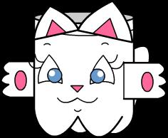 portatrecopronto2 Porta Treco de Gatinho para crianças