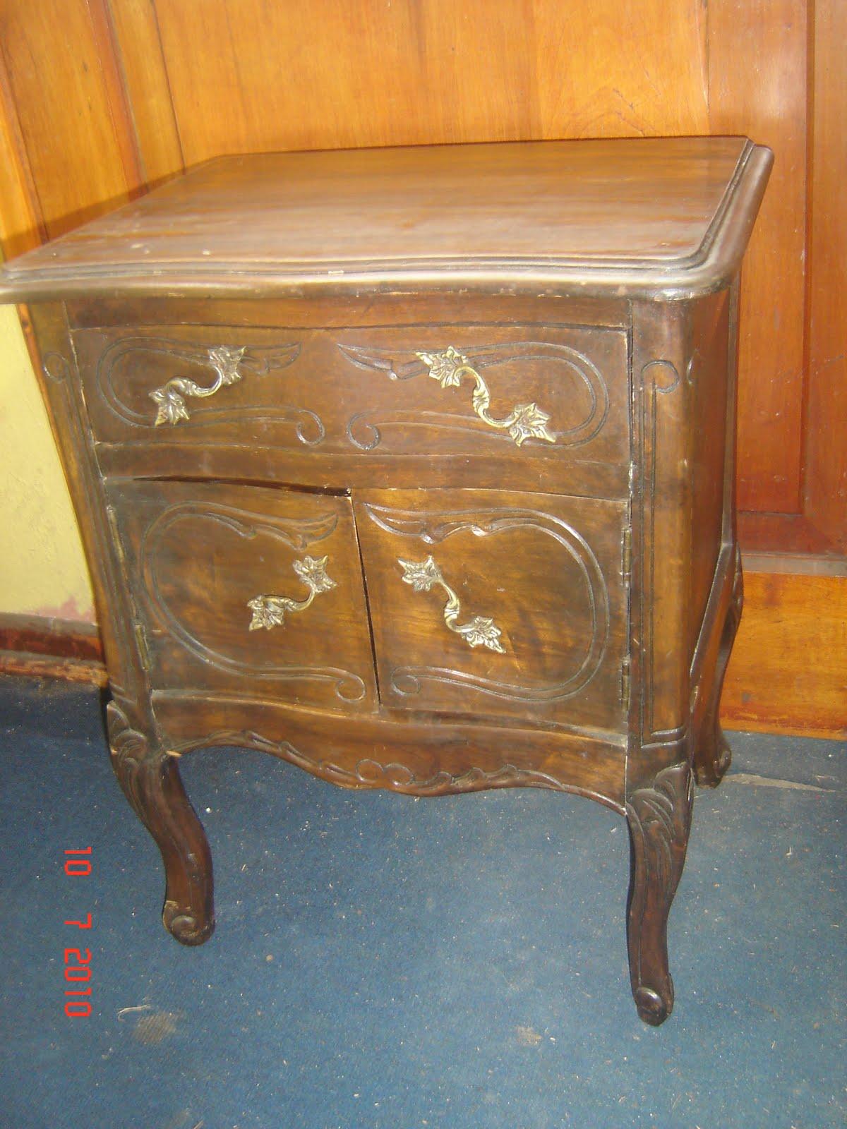 Ventas varias para tu hogar mueble antiguo velador - Muebles antiguos de madera ...