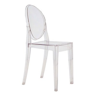 Acrylic Clear Side Chair Modern Deco New Ghost Chairs