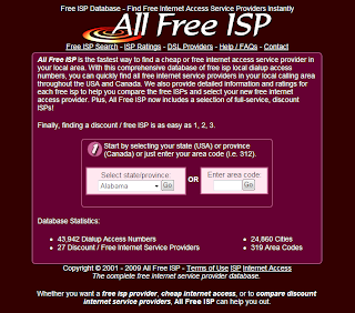 how to get internet service provider