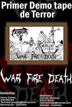 TERROR - WAR FIRE DEATH (2010)