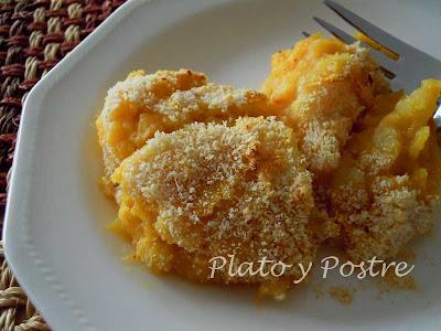 Gratén de Calabaza y Patatas