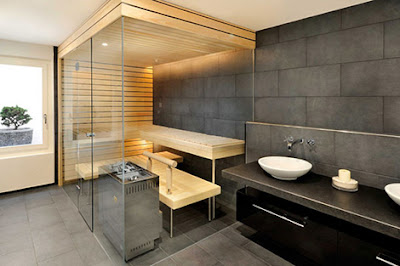 6 Luxury Indoor Saunas Design Home 4us