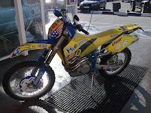 La moto de Pepe (husaberg 400 4t)