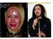 Dua Ayam Kampung Banten Ratu Atut Chosiyah dan Angelina Sondakh