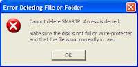 Cara Menghapus File yang  Sulit Dihapus