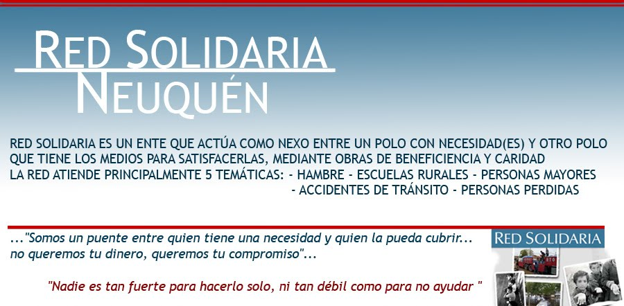 RED SOLIDARIA NEUQUEN