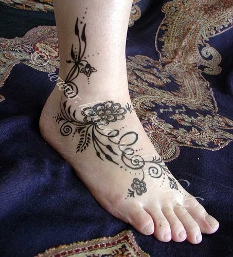 tattoos gallery tribal flower tattoo designs. Black Bedroom Furniture Sets. Home Design Ideas