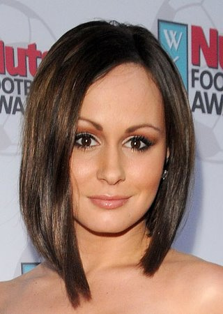 medium short hairstyles pictures. medium celebrity hair styles