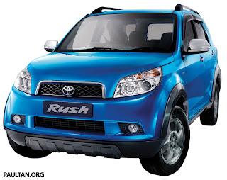 harga mobil bekas toyota rush car type year price rp jt toyota rush g