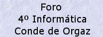 FORO DE OPINIÓN