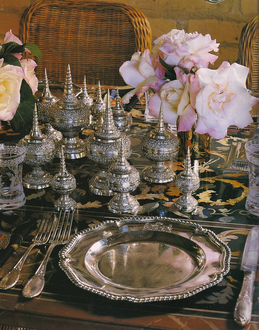 Style Of The Day Silver Table Setting Impulse Vision