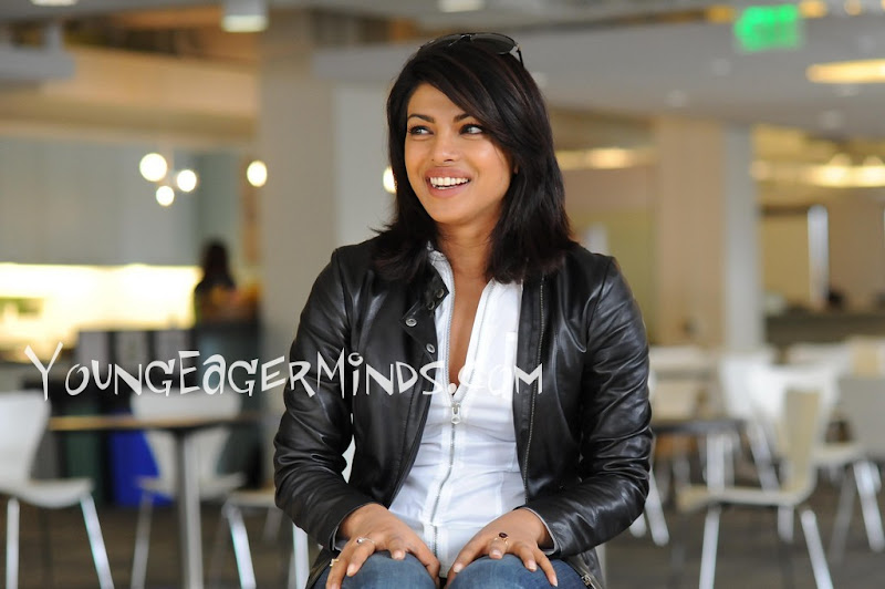 Hot Priyanka Chopra at Twitter Head Office Exclusive Pictures