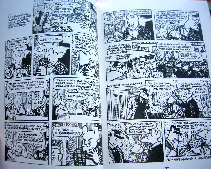 a comaparative analysis of two novels by art spiegelman entitled maus and sandman 2 maus by art spiegelman spiegelman's tale of a polish jew surviving the holocaust has mainly been challenged by polish people, who take issue with the book's portrayal of poles as pigs (the.