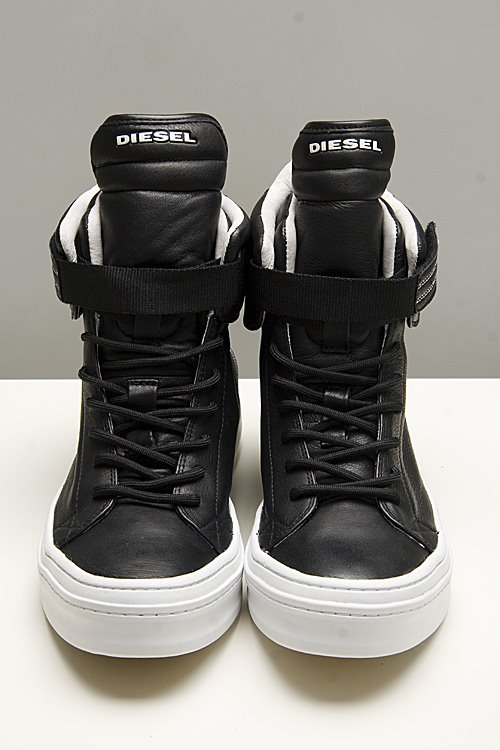 Diesel Glam Rock Black Shoes
