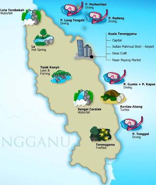 Terengganu Map