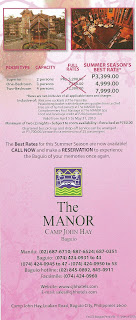 The Manor Camp John Hay poster