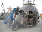 Artcar at Burning Man.