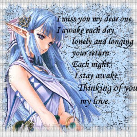 I miss u sad thoughts
