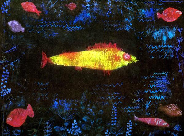 O peixe dourado