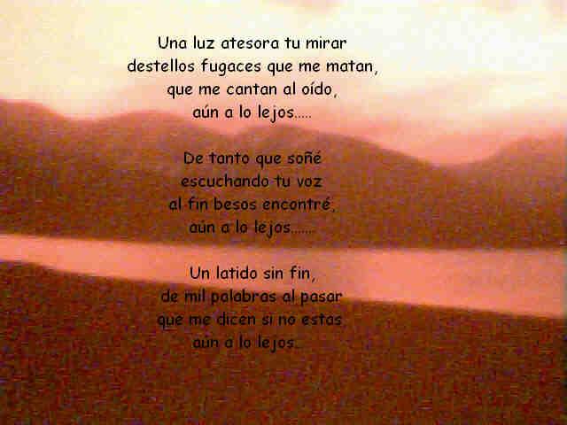===Poremas a flor de piel=== Poema+con+un+atardecer