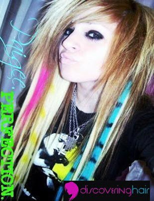 new trend emo hairstyle