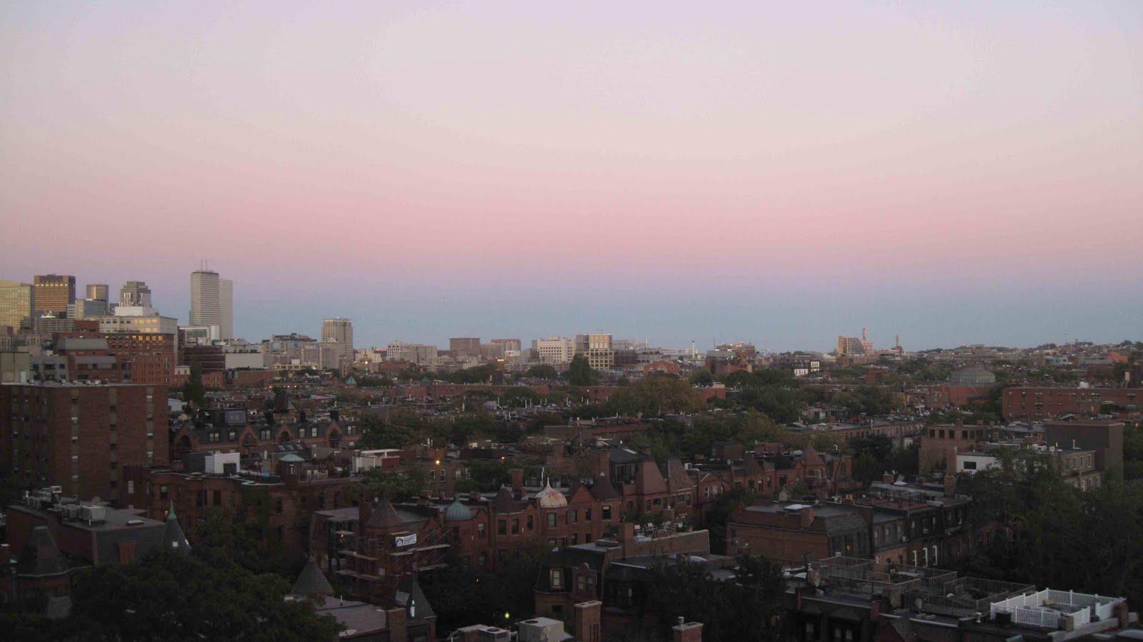 Lucreziana 2008 boston dai vetri di un decimo piano for Piani dell edificio per la colazione