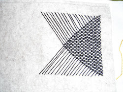 Lines into stitch