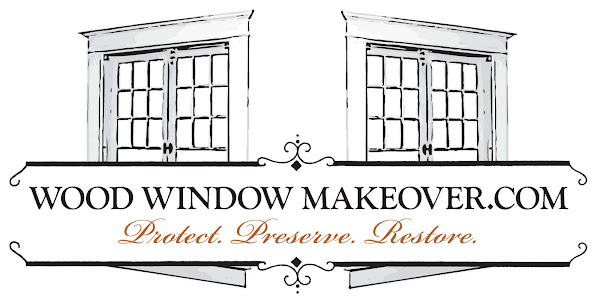 Home of the Wood Window Makeover