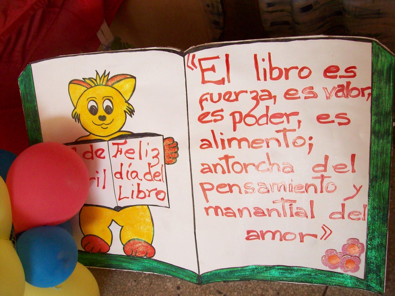 23 De Abril Da Del Idioma Y Del Libro Dibujos Para Colorear | Just