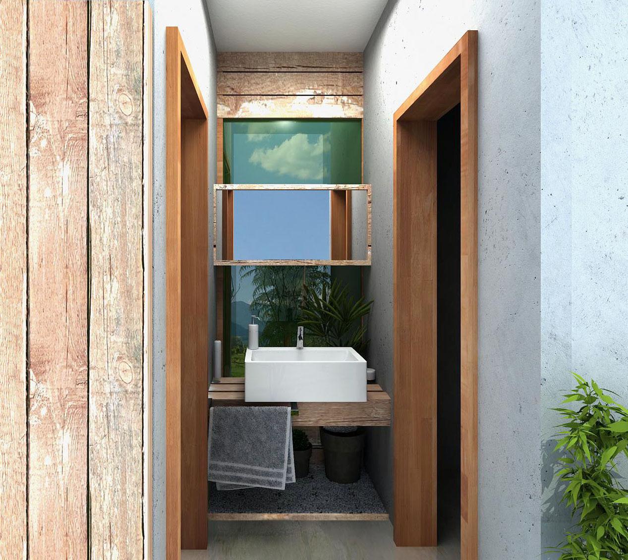 CasaEco Arquitetura e Design: Projeto para um pequeno espaço #936238 1267 1130