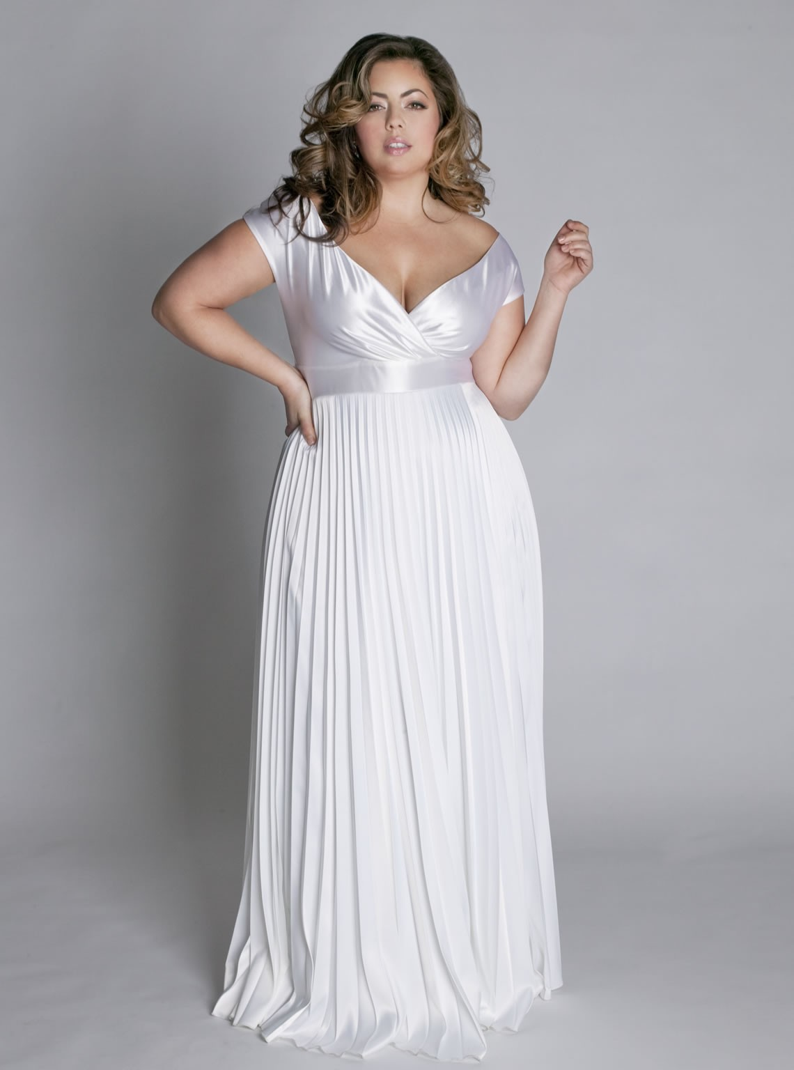 The loud fat girl blog IGIGI wedding dress