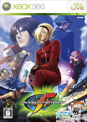 The King of Fighters XII, poster, xbox 360, kof, xii