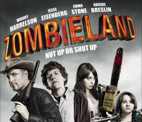 zombieland, movie, poster, film, comedy, horror