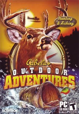 cabela's outdoor adventures 2010, video, game, poster, cover, images