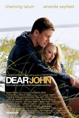dear john, movie, poster, film