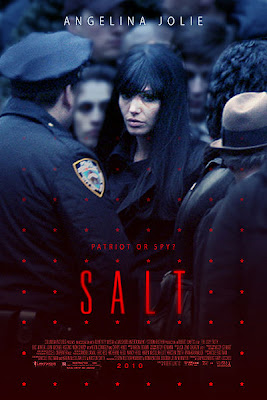 Salt, movie, poster, Angelina Jolie