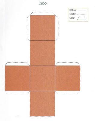 cubo Figuras Geométricas para crianças