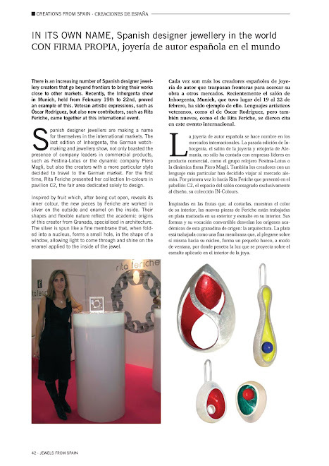 "Reportaje de RITA FERICHE en ""Inhorgenta 2010""-Munich"