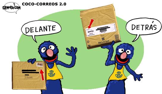 empresa de reparto de correo: